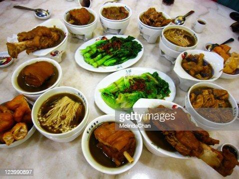 Pork soup : Stock Photo