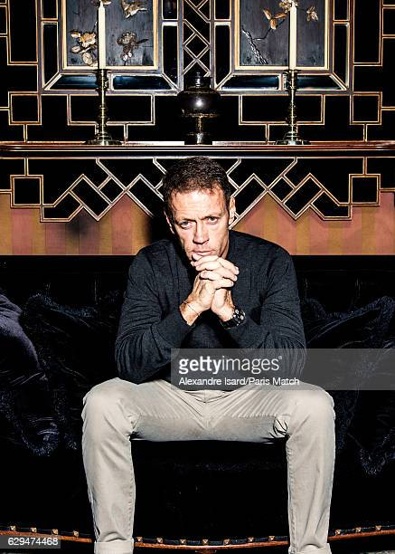 Porn actor and film director Rocco Siffredi is photographed for Paris Match on November 18 2016 in Paris France