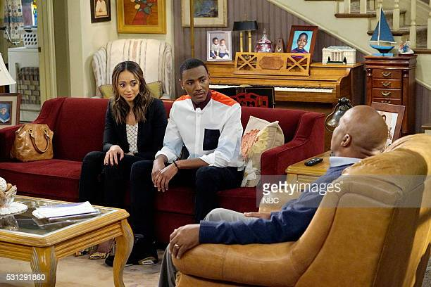 "SHOW ""Porn Addiction"" Episode 212 Pictured Amber Stevens West as Maxine Jerrod Carmichael as Jerrod Carmichael David Alan Grier as Joe Carmichael"