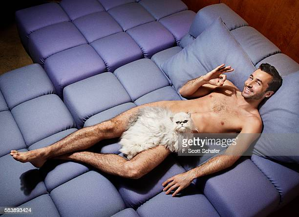 Porn star James Deen is photographed for Playboy Magazine on May 14 2013 in Los Angeles California
