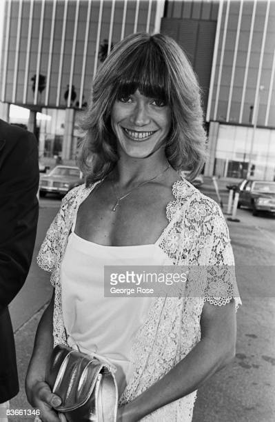 Porn star Marilyn Chambers arrives at the 1980 Hollywood California Adult Entertainment Awards held at the Palladium