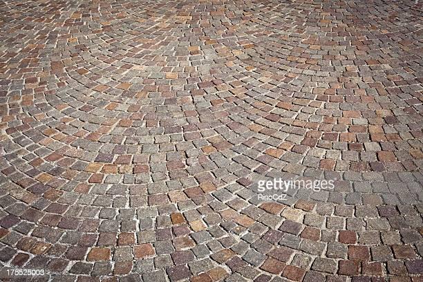 Pórfiro Sampietrini chão textura de fundo de padrão