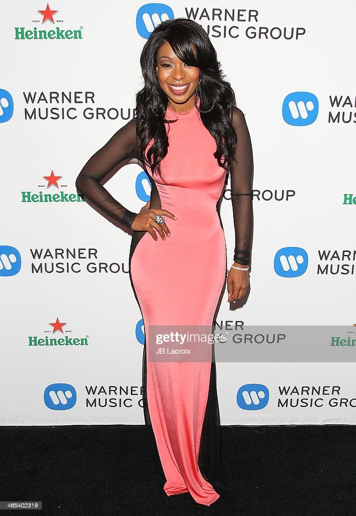 Porscha Coleman attends the Warner Music Group Hosts Annual Grammy Celebration held at Sunset Tower on January 26, 2014 in West Hollywood, California.