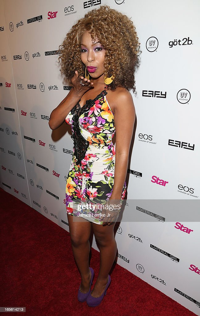 Porscha Colman attends the Star Magazine's 'Hollywood Rocks' Party held at the Playhouse Hollywood on April 4, 2013 in Los Angeles, California.