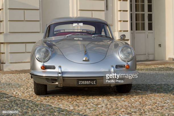 Porsche 1600 Super Supercar and luxury sports car on exhibition during Turin Car Show
