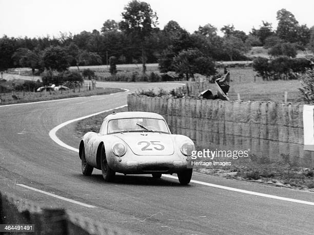 Porsche 550A RS Coupe Le Mans 24 Hours France 1956 The 15 litre car driven by Richard von Frankenberg and Wolfgang von Trips finished 5th in the race