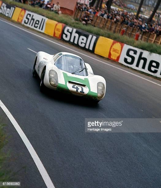 Porsche 9076 driven by SiffertHerrman 1967 Le Mans Artist Unknown