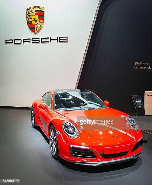 Porsche 911 Carrera S sports car