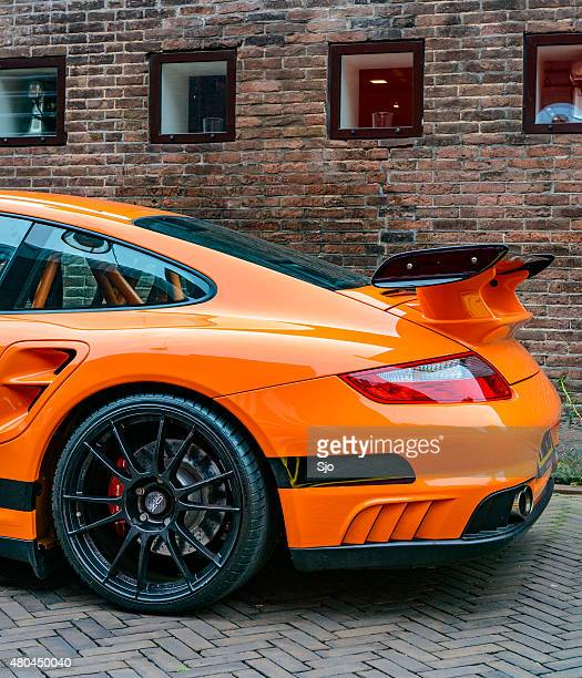 Porsche 911 GT3 RS sports car rear