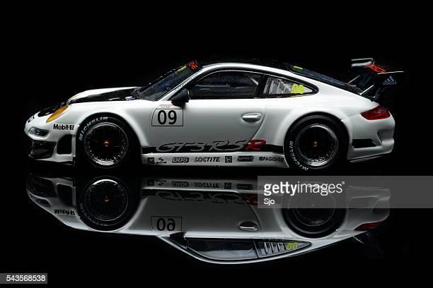 Porsche 911 GT3 RSR Rennwagen-Modell