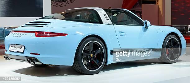Porsche 911 Targa 4S sports Auto, Rückansicht