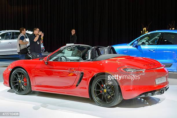 Porsche Boxster GTS roadster sports car rear view