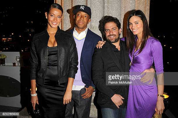 Porschla Coleman Russell Simmons Brett Ratner and Alina Puscau attend VANITY FAIR Tribeca Film Festival Party hosted by GRAYDON CARTER ROBERT DE NIRO...