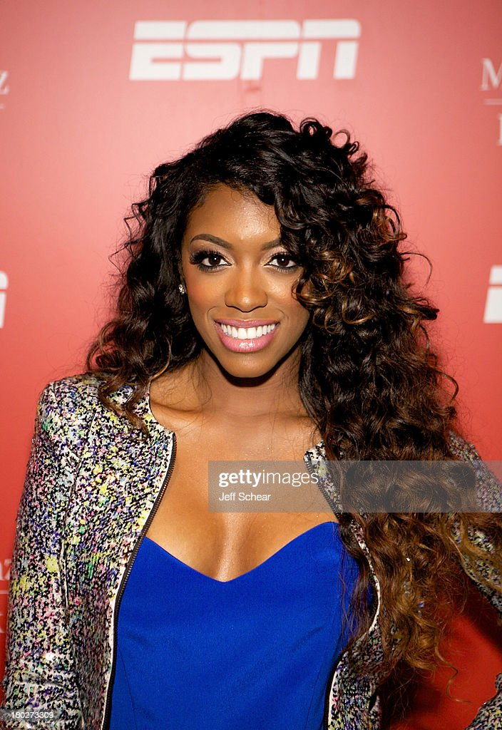 Porsha Stewart attends ESPN Fashion Week - Revenge of the Jocks at The Box at Lincoln Center on September 10, 2013 in New York City.