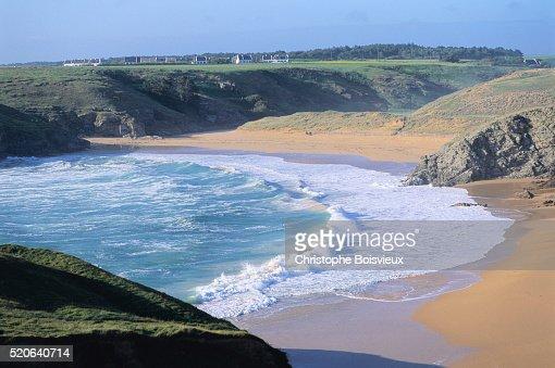 Belle ile france photos et images de collection getty images for Port donnant belle ile
