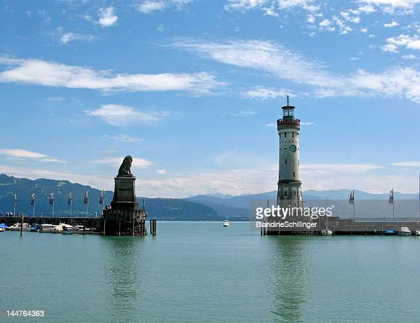 Port entrance of Lindau