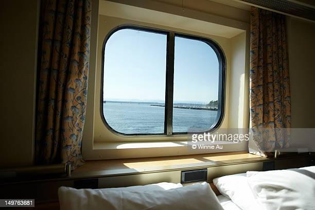 Port Hole on Cruise Ship