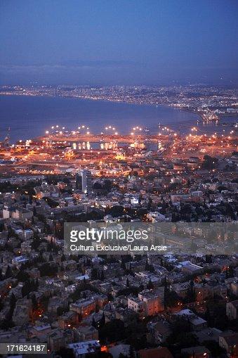 Port in Haifa, Israel