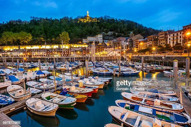 Port in San Sebastian