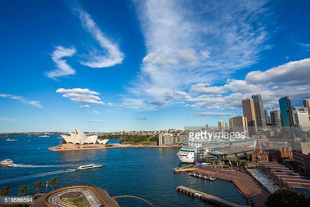 Port Jackson in Sydney, Australia