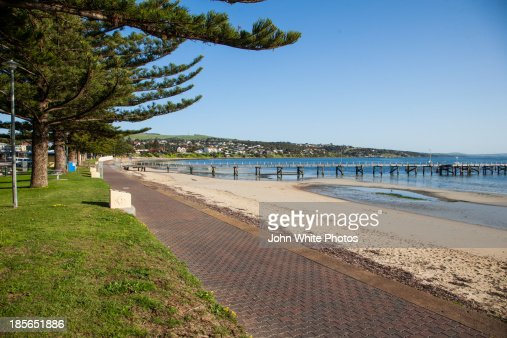 Port Lincoln front beach. South Australia