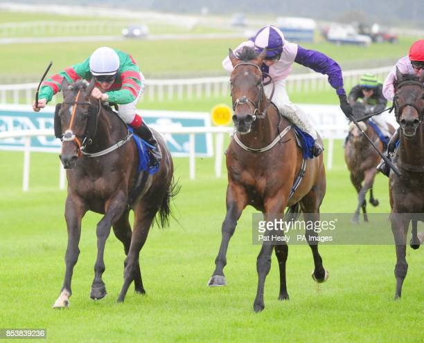 Port Merrion ridden by Fran Berry win the Gabriel Curran Memorial Handicap at Curragh Racecourse County Kildare