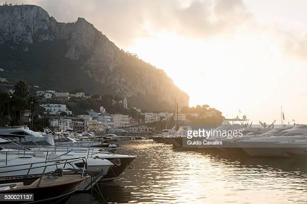 Port of Capri, Napoli, Campania, Italia