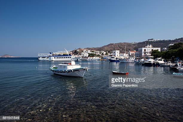 Port of Patmos Island