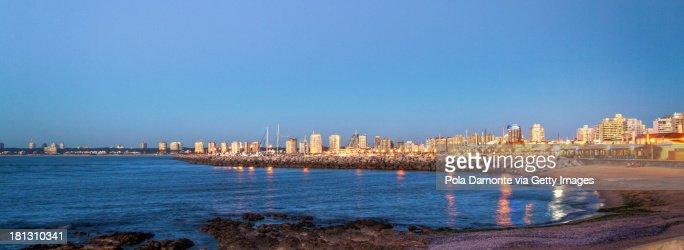 Port of Punta del Este and La Mansa Bay, Uruguay