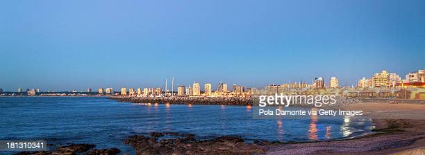 Port of Punta del Este and La Mansa Bay, Uruguay