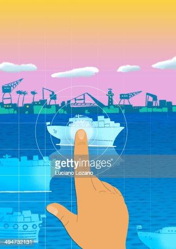 Port : Stock Photo