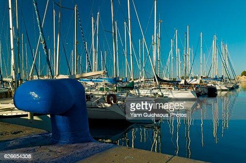 Port saint louis bouches du rhone provencve france stock - Navy service port saint louis du rhone ...