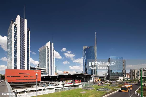 Porta Nuova Garibaldi business district, Milan