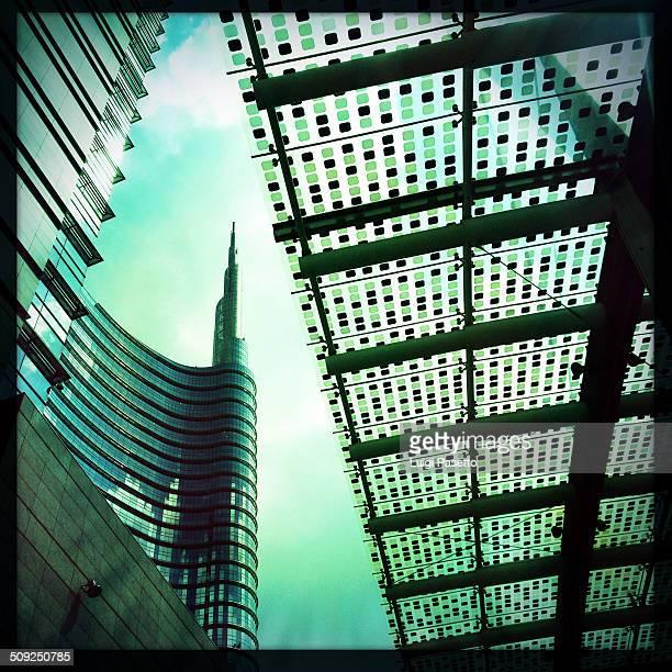 Porta Nuova Milano Expo 2015 Skyscraper in Gae Aulenti square Lombardy Italy