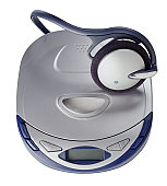 Portable CD Player with Headphones