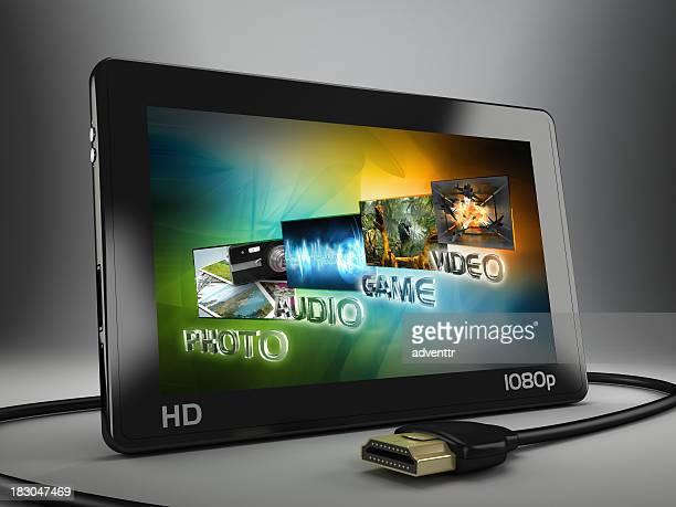 Portable HD media player