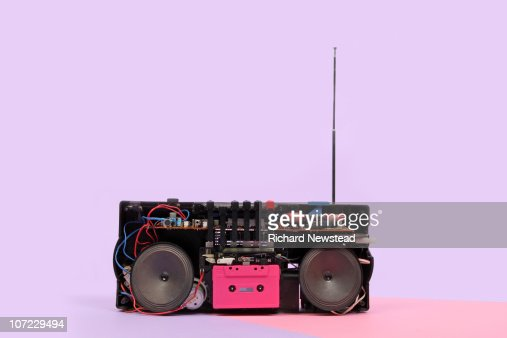 Portable Stereo : Stock Photo