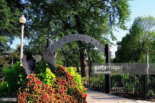 Portage Park Entry