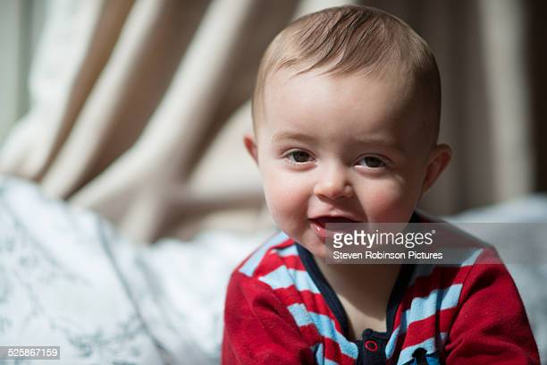 Portait of a Happy Baby