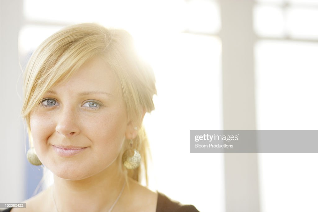 portait of a young lady : Stock Photo