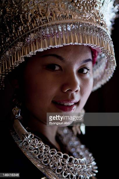 Portait of Chinese girl
