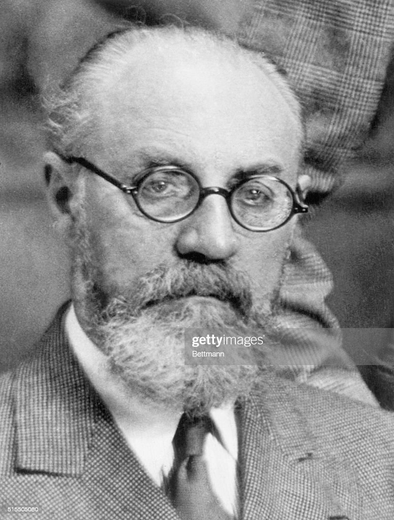 Portait of Henri Matisse (1869-1954). French painter, sculptor, and lithographer. Head and shoulders undated photograph.