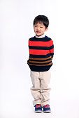 Portait of Japanese boy