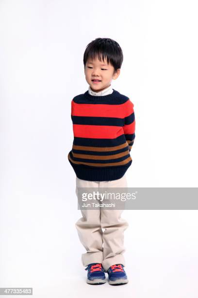 Portait of Japanese boy