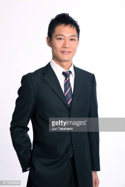 Portait of Japanese business man