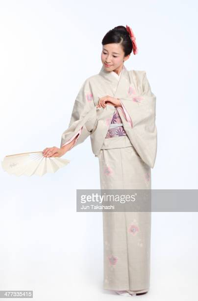 Portait of Japanese woman