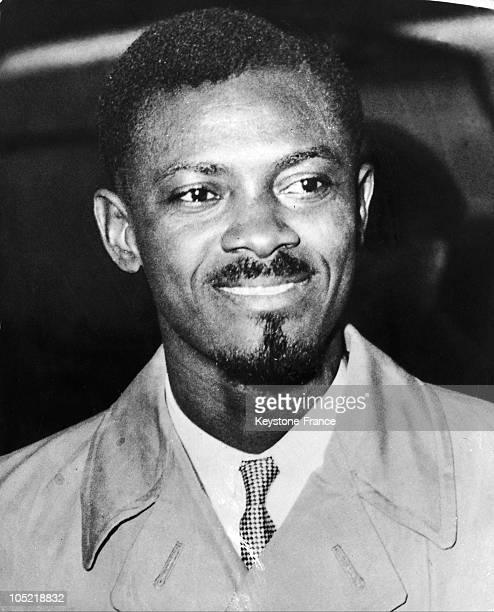 Portait Of Patrice Lumumba Leader From The Belgian Congo In 1960