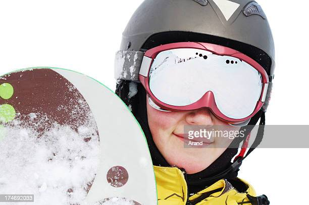 portait of snowboarder