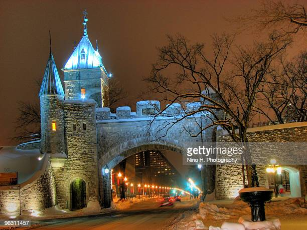 Quebec city stock photos and pictures getty images for Porte st louis quebec