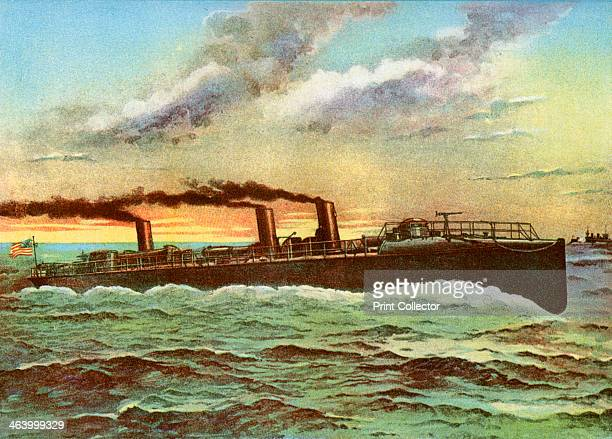 USS 'Porter' American torpedo boat 1898 Commissioned in 1897 'Porter' saw action in the SpanishAmerican War participating in blockade duites off the...